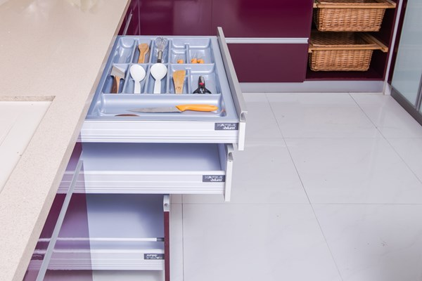 ... Design Modular Kitchen Trolley Furniture In Pune ...